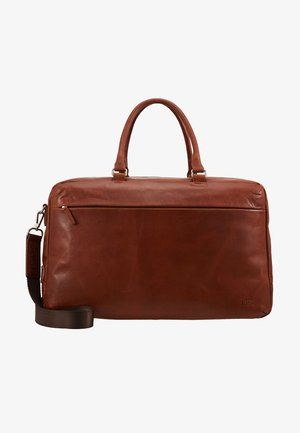 MALMÖ TRAVELBAG - Weekend bag - cognac