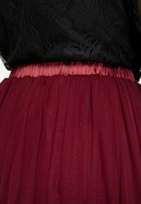 Lace & Beads - VAL SKIRT - A-Linien-Rock - burgundy - 5