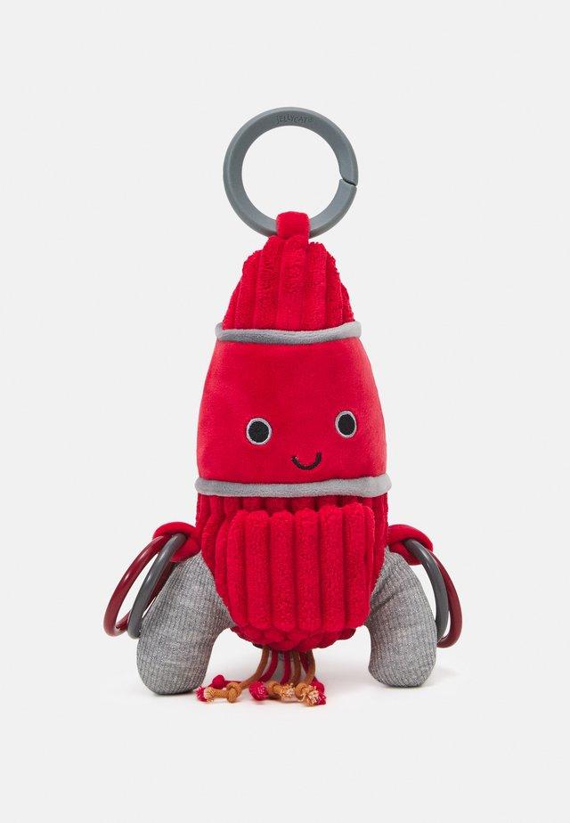 COSMOPOP ROCKET ACTIVITY TOY UNISEX - Speelgoed - red