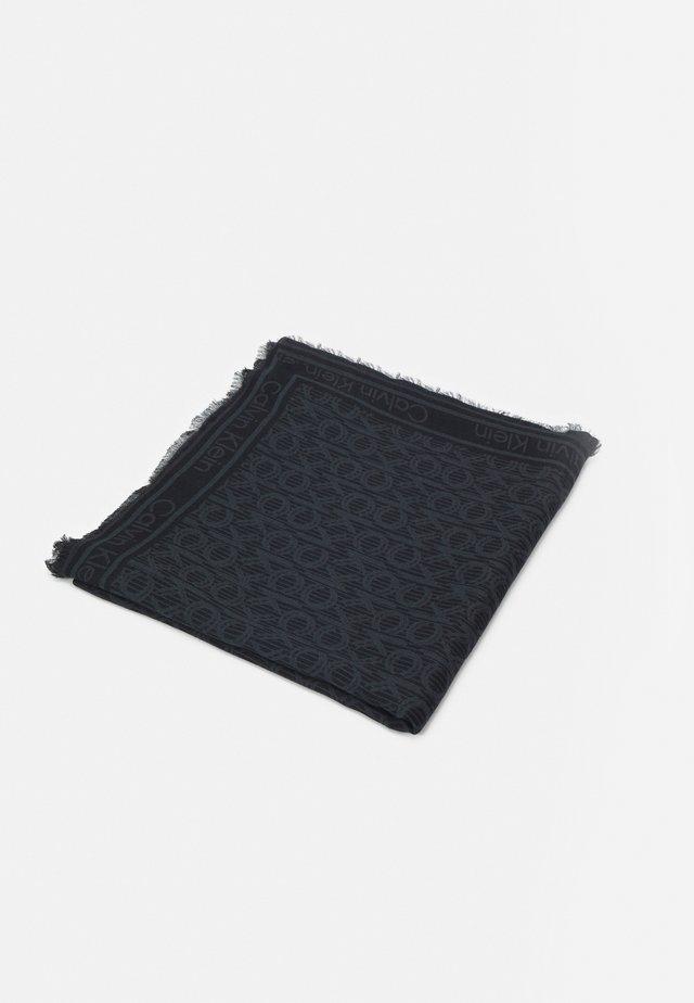 MONO SCARF - Šátek - black mix