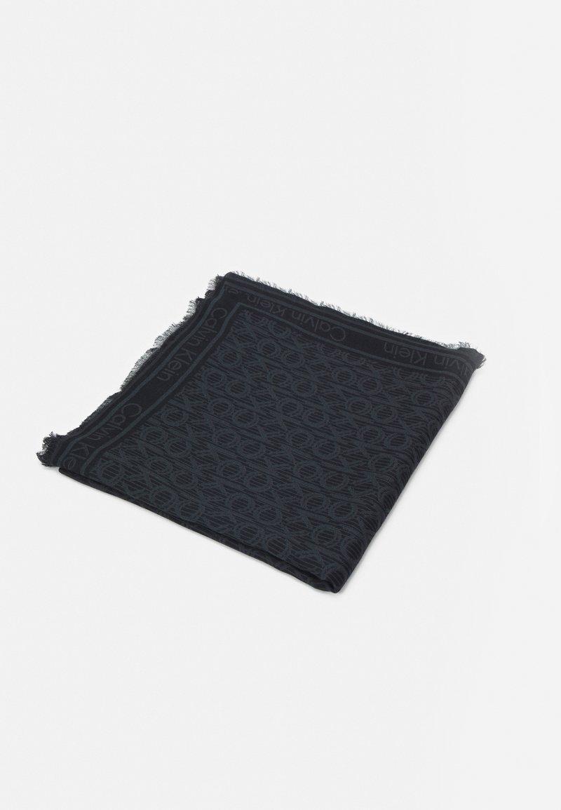 Calvin Klein - MONO SCARF - Foulard - black mix