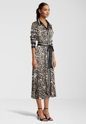 MINA LEO - Shirt dress - sesame