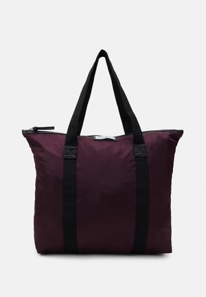 GWENETH - Tote bag - rouge/noir