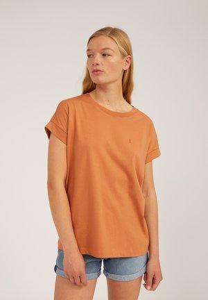 IDAA  - Basic T-shirt - toasted hazel