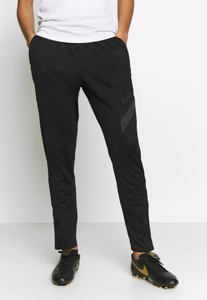 DRY ACADEMY PANT - Tracksuit bottoms - black/anthracite/anthracite