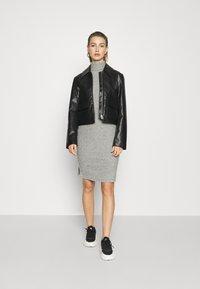 Even&Odd - Pouzdrové šaty - mottled grey - 1