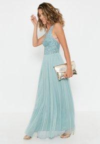 BEAUUT - EMBELLISHED SEQUINS  - Cocktail dress / Party dress - mint - 1