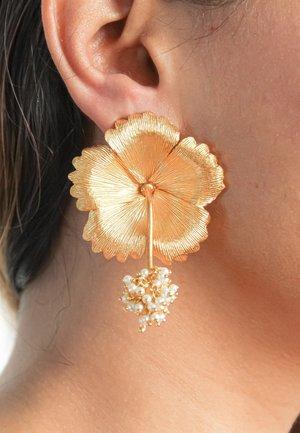 WILD HIBISCUS - Boucles d'oreilles - gold