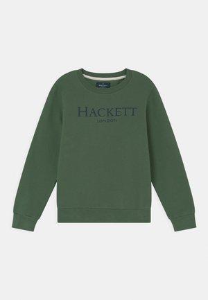 LOGO CREW - Sweater - green