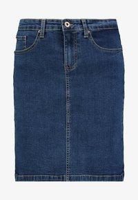 Zalando Essentials - DENIM SKIRT PENCIL - A-line skirt - blue denim - 5