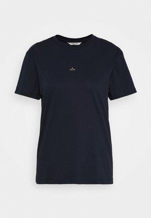SUZANA TEE - T-shirts med print - navy