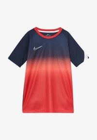 Nike Performance - DRY ACADEMY  - Funkční triko - obsidian/white - 2