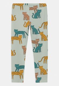 Lindex - LEO UNISSEX - Leggings - Trousers - light aqua - 1