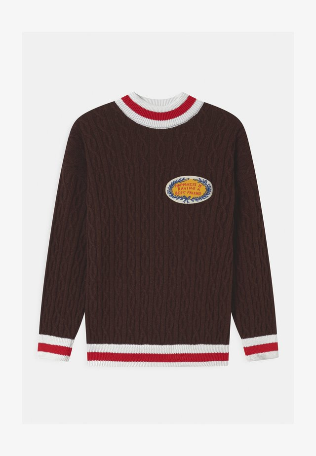 HAPINESS UNISEX - Jumper - brown