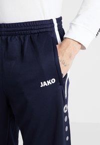 JAKO - ACTIVE - Teplákové kalhoty - navy/white - 3
