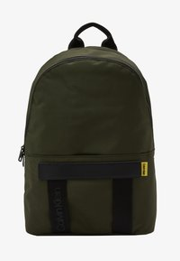 Calvin Klein - NASTRO LOGO BACKPACK - Reppu - green - 1