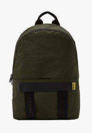 NASTRO LOGO BACKPACK - Reppu - green