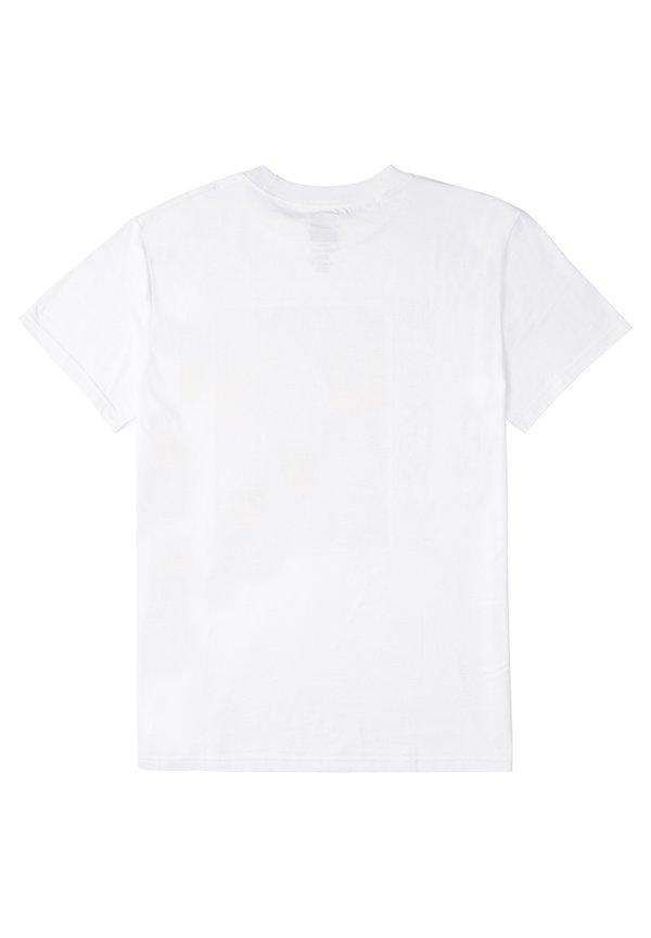 DC Shoes GRIDLOCK - T-shirt z nadrukiem - white/biały Odzież Męska ZZKW