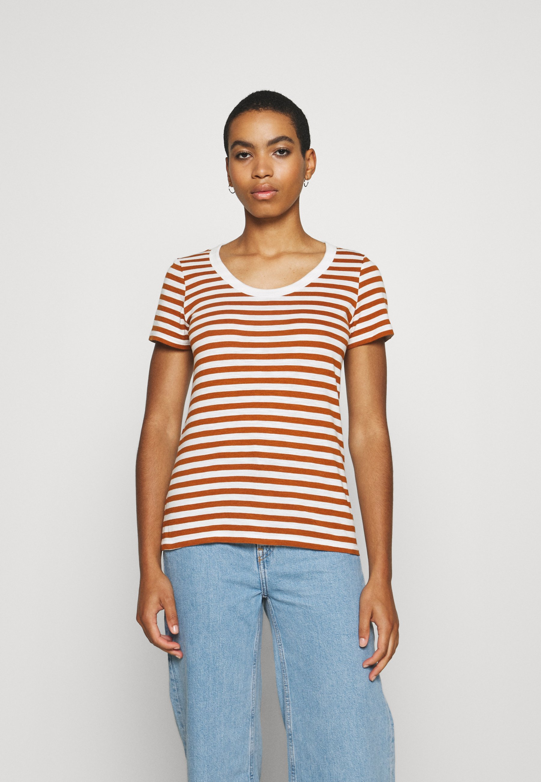 Damen STRIPED SHIRT - T-Shirt print