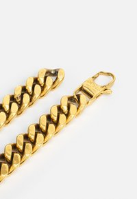 Guess - CURB DOTTED UNISEX - Necklace - antique gold-coloured - 1