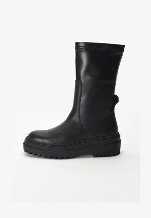 Platform boots - black blk