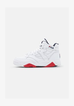 SQUAD  - High-top trainers - white