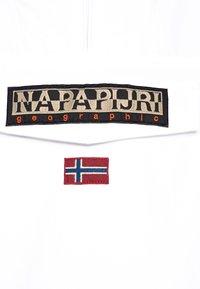 Napapijri - RAINFOREST SUMMER - Waterproof jacket - bright white - 2