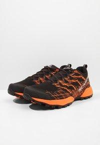 Scarpa - NEUTRON 2 - Trail running shoes - black/orange - 2