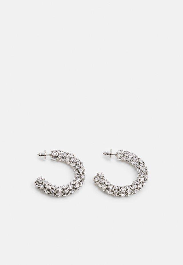 HOOPS - Boucles d'oreilles - silver-coloured