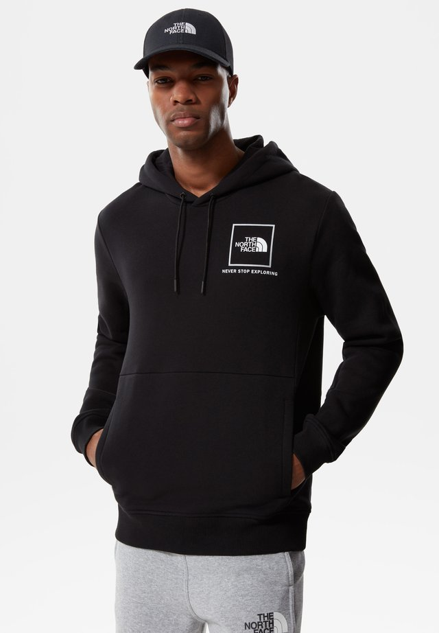 Hoodie - tnf blk/silver reflective