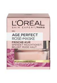L'Oréal Paris Skin - AGE PERFECT ROSE MASK 50ML - Face mask - - - 1