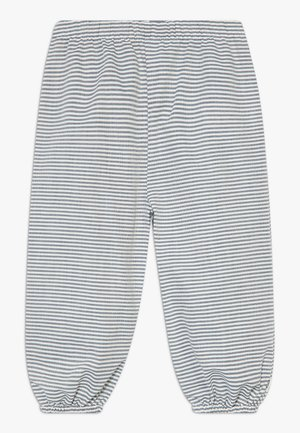 STRIPE BABY ZGREEN - Trousers - white/blue