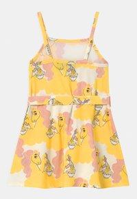 Mini Rodini - UNICORN NOODLES  - Jerseykleid - yellow - 1