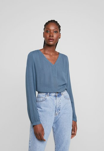 AMBER BLOUSE - Blouse - orion blue