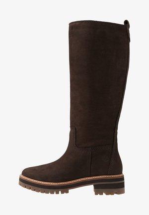 COURMAYEUR VALLEY TALL - Boots - dark brown