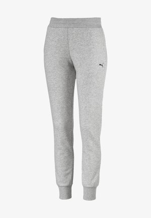 Tracksuit bottoms - light gray heather-cat