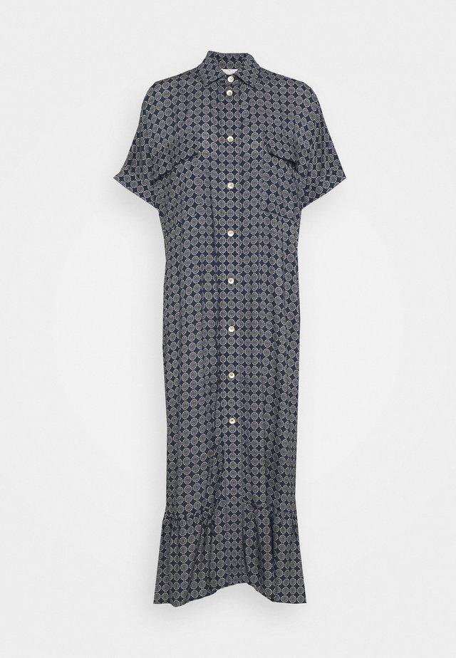LIGHT MAXI DRESS - Blusenkleid - navy tile