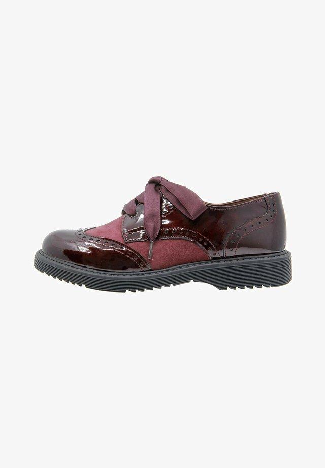 Chaussures à lacets - burdeos