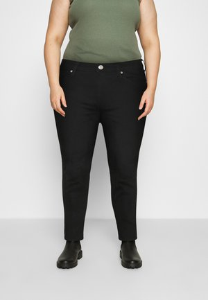 IVY SKINNY - Jeans Skinny Fit - black denim