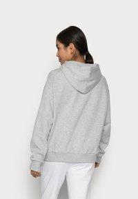 Even&Odd Petite - Sweat à capuche - mottled light grey - 2