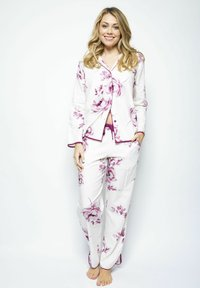 Cyberjammies - Pyjamahousut/-shortsit - burgundy floral - 1