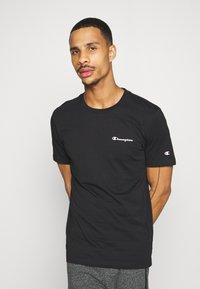 Champion - 2PACK CREW NECK - T-shirt print - grey - 3
