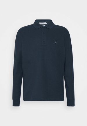 REFINED LONG SLEEVE  - Koszulka polo - blue