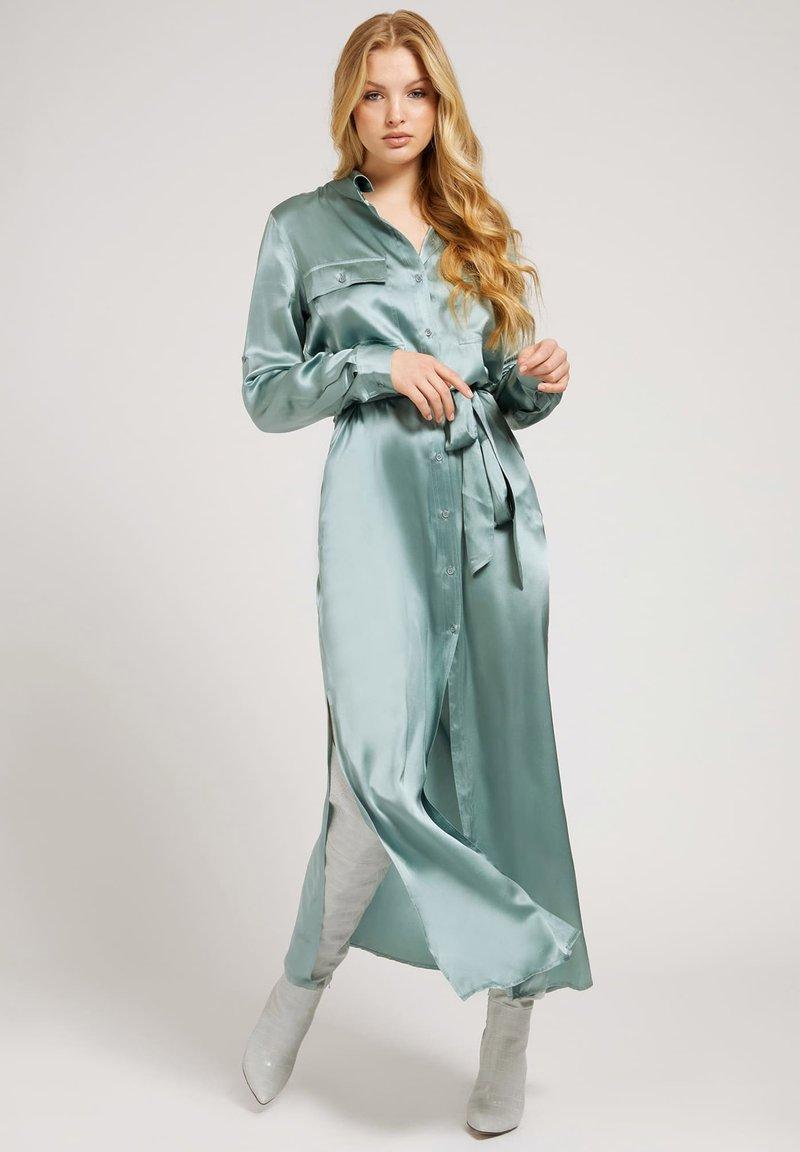 Guess - Maxi dress - himmelblau