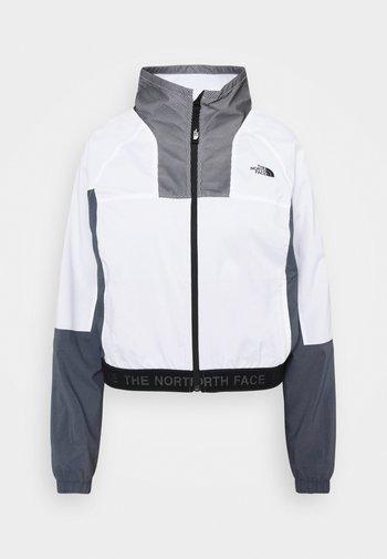 W TNL WIND JACKET - EU - Summer jacket - wihite/vanadis grey