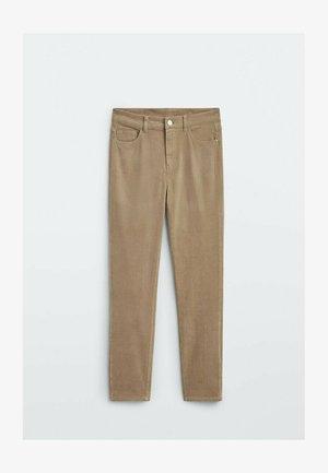Straight leg jeans - ochre