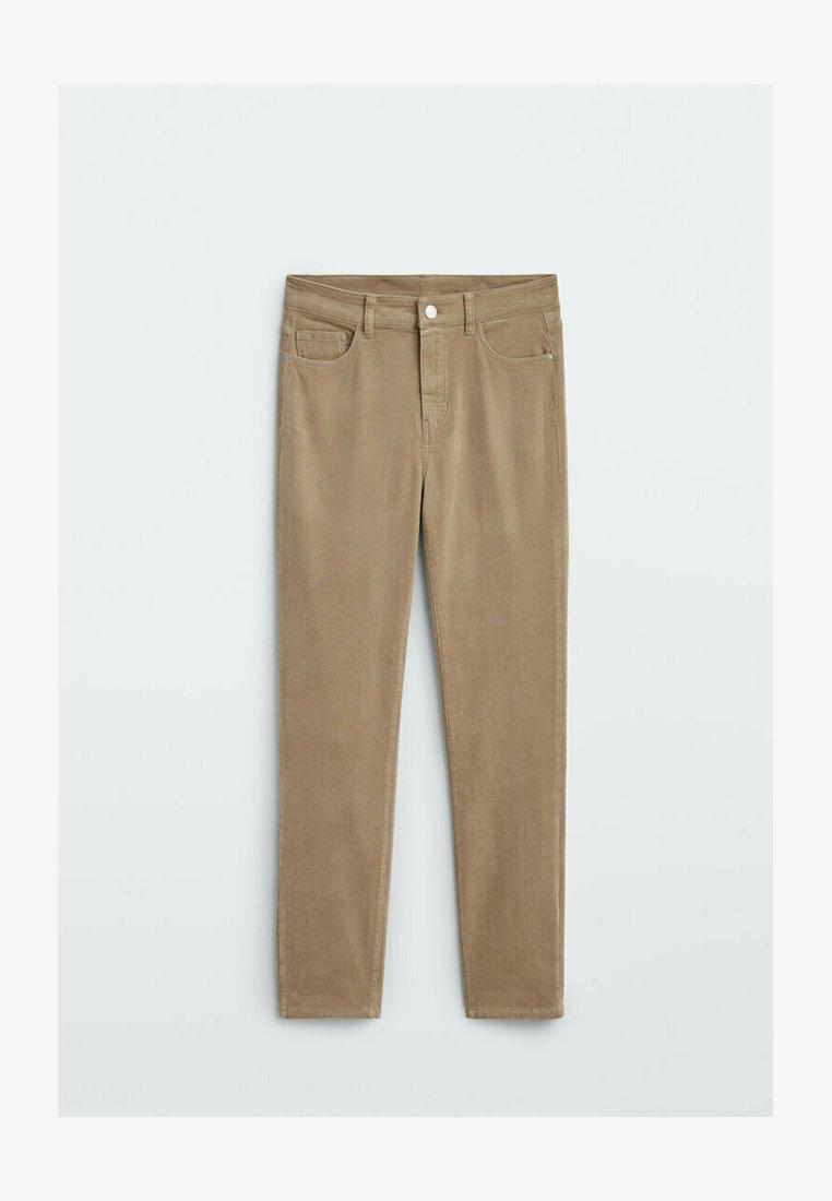 Massimo Dutti - Straight leg jeans - ochre