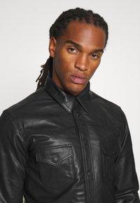 Tiger of Sweden Jeans - TITO - Leather jacket - black - 2