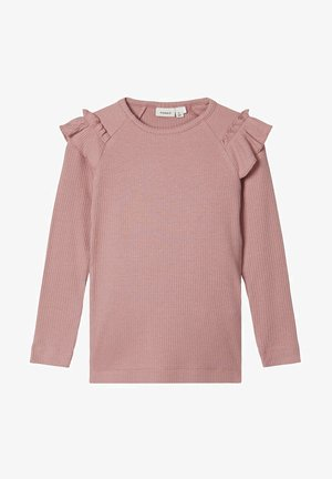 Long sleeved top - woodrose