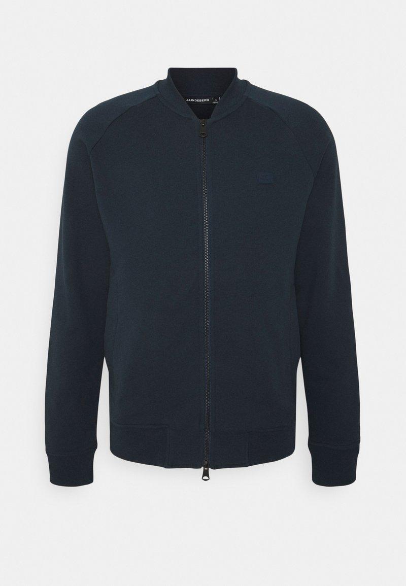J.LINDEBERG - JOSEF ZIP - Zip-up hoodie - navy